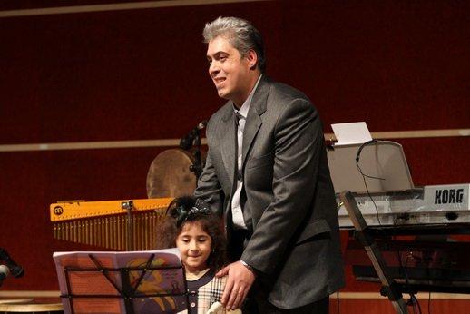 آرش رحیم بیکی (مدیر آموزشگاه) و آرام رحیم بیکی